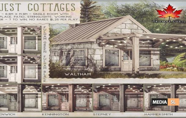 Guest Cottages Gacha – GACHA