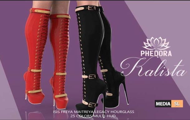 Kalista Boots ♥ – NEW