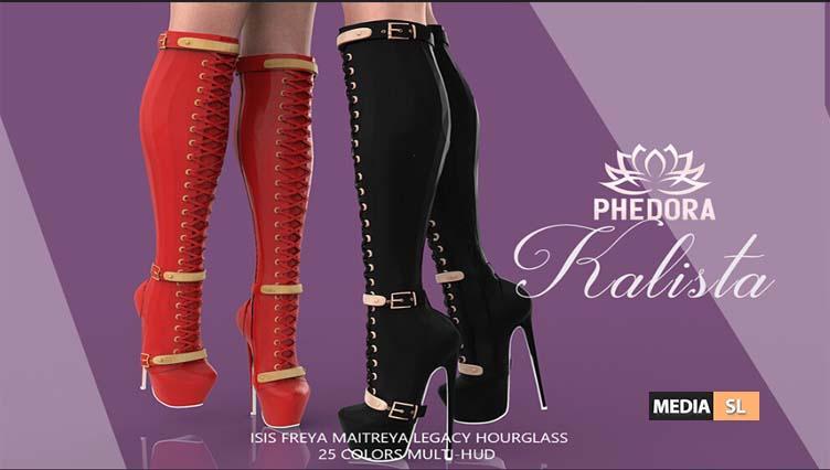Kalista Boots ♥ – NEW