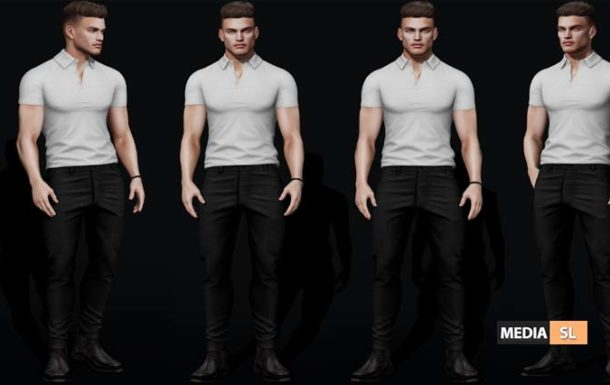 BREATHING ANIMATION MALE POSES – NEW MEN