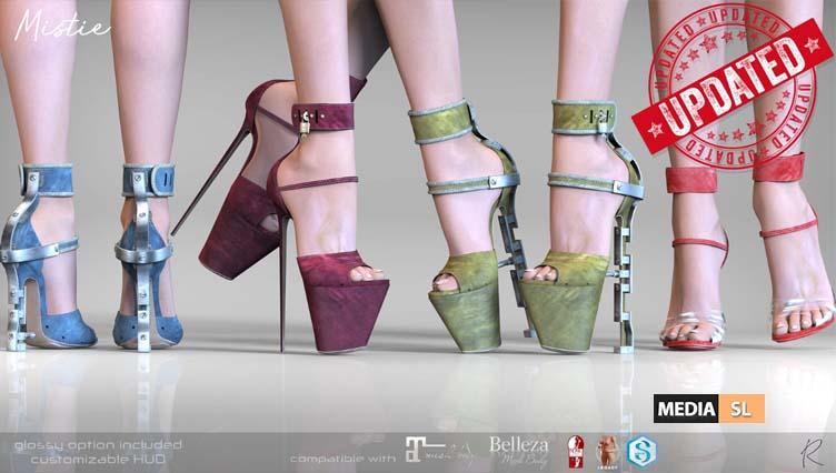 Mistie Heels – NEW