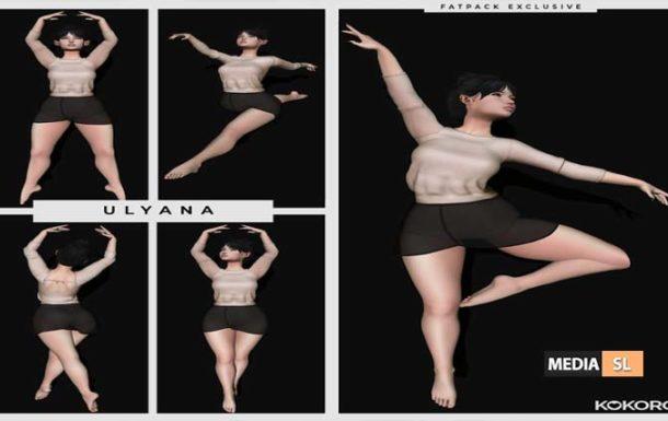 Ulyana (Bento Poses)  – NEW