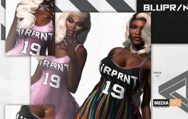 AIRPRNT Jersey Dress  – NEW