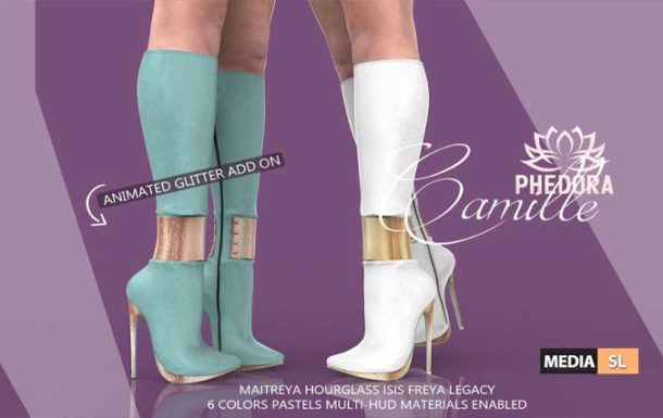 Camille Boots ♥   – NEW