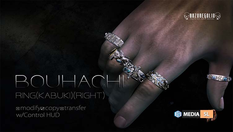 ROZOREGALIA BOUHACHI RING – NEW MEN