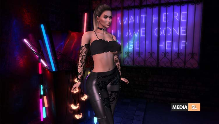 Leather and Lace  – NEW