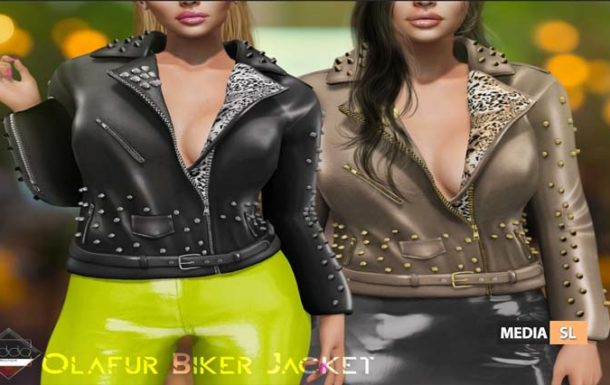 Olafur Biker Jacket – NEW