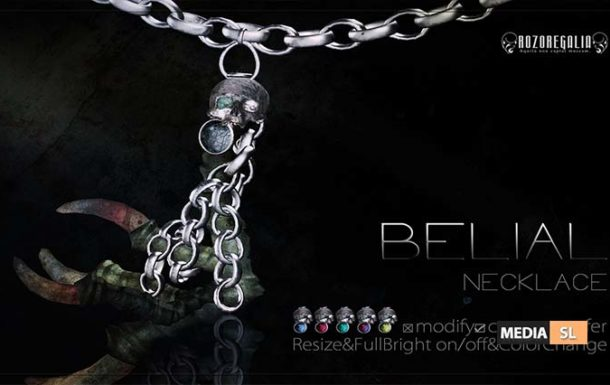 ROZOREGALIA BELIAL NECKALCE – NEW MEN