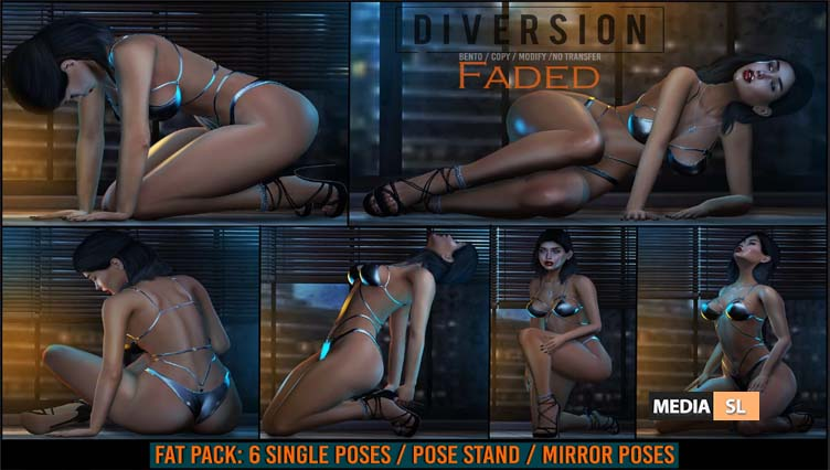 Faded Poses – NEW