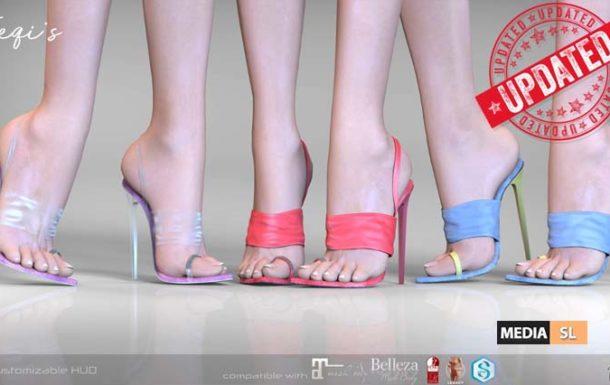 Teqi's Heels – NEW
