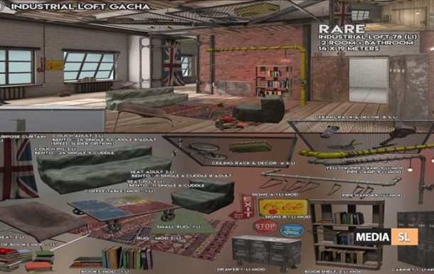Industrial Loft – Gacha