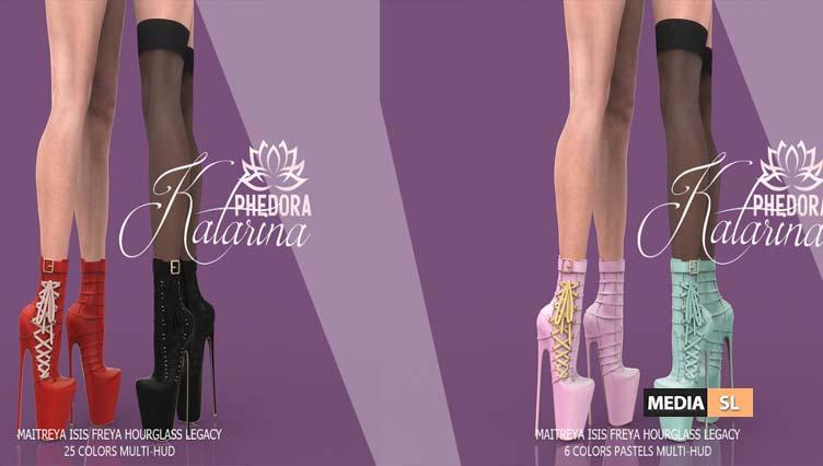 Katarina Ankle Boots – NEW