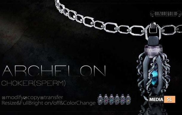 ROZOREGALIA ARCHELON CHOKER (Sperm) – NEW MEN