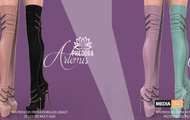 Artemis Boots ♥  – NEW