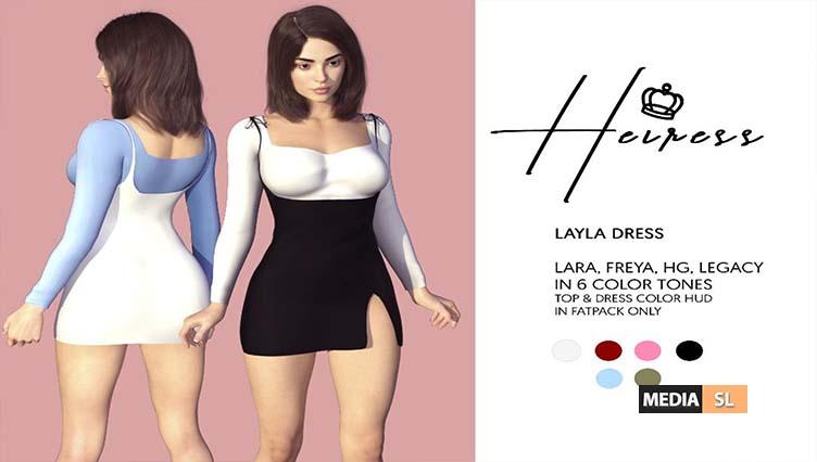 Layla Dress – NEW