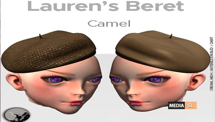 Lauren's Beret-Camel – Gift