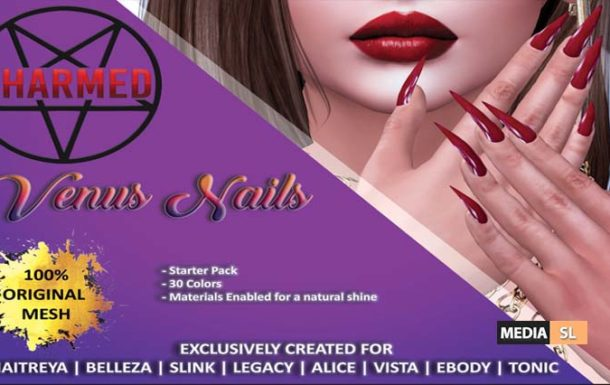 VENUS STILETTO NAILS – NEW