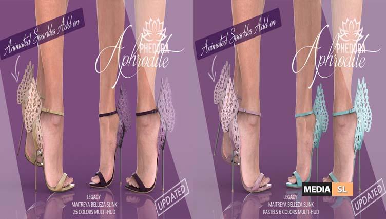 Aphrodite Heels  – NEW