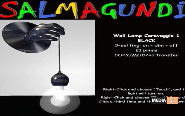 Wall Lamp Caravaggio – NEW DECOR