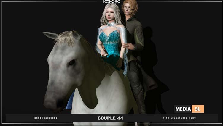 Couple 44 (Bento Poses)   – NEW