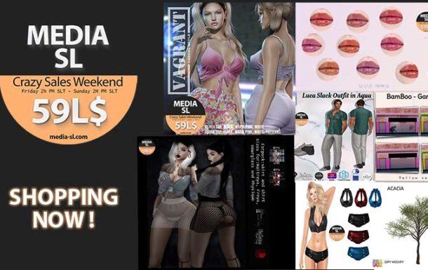 MEDIA SL CRAZY SALE WEEKEND February 21-23TH