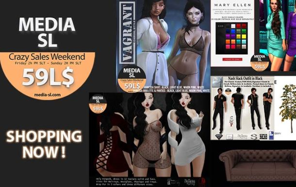 MEDIA SL CRAZY SALE WEEKEND February – March 28-01TH