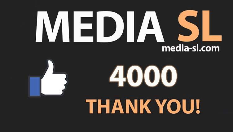 4000 like THANK YOU!