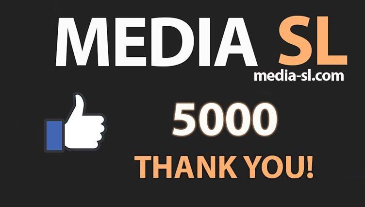 5000 like THANK YOU!