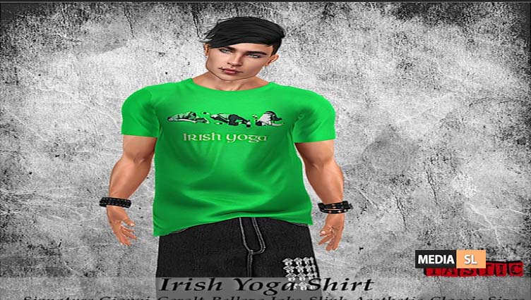 Irish Yoga Shirt – NEW MEN