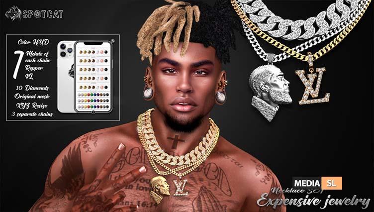 Expensive jewelry SET – NEW MEN