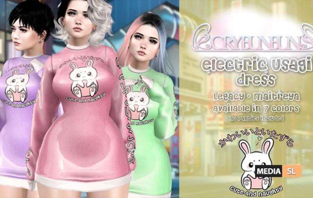 Electric Usagi Dress – NEW