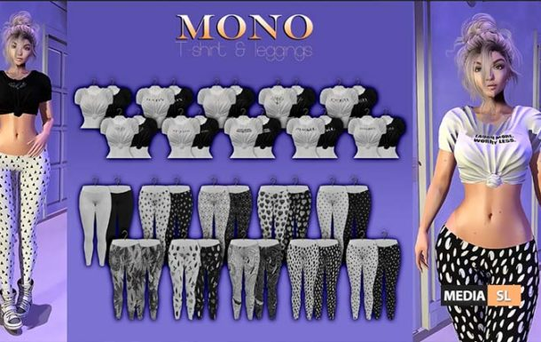Mono Tshirt & leggings – NEW