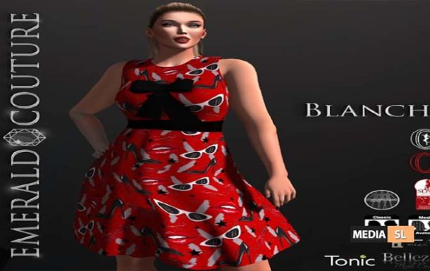 EC Blanche Dress – NEW