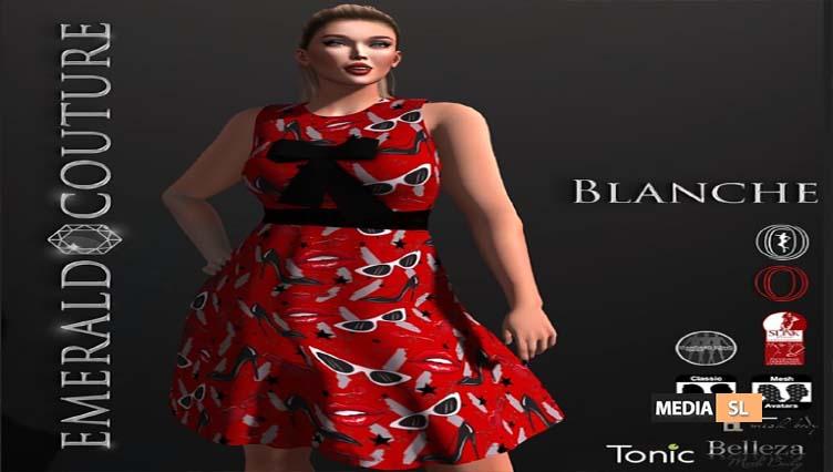 EC Blanche Dress – NEW