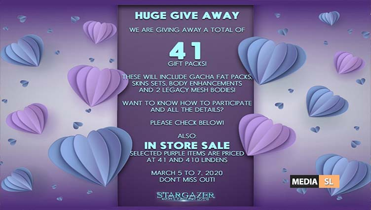 The huge 41 Give Away – SALE