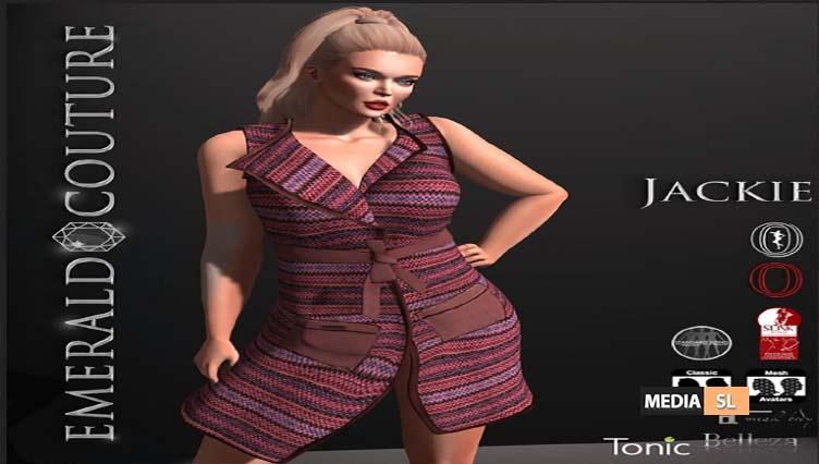 EC-Jackie Coat Dress – NEW