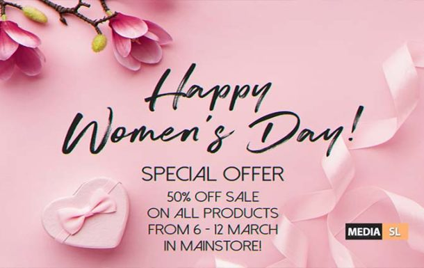 Happy Women's Day!  – SALE