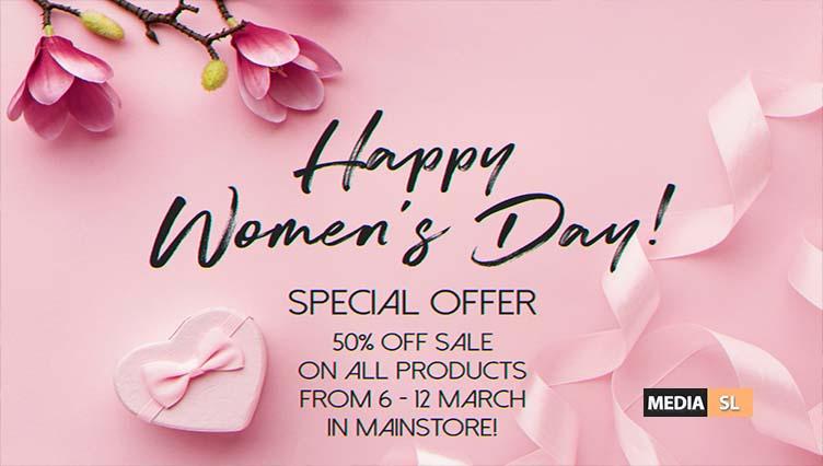 Happy Women's Day!  – SALE