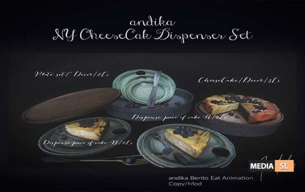 andika Group Gift [NY CheeseCake Dispenser Set] – Gift