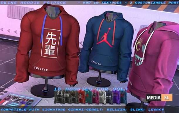 "TD"" 99L$ Limited Time Promo Wildking Hoodies FATPACK – NEW MEN"