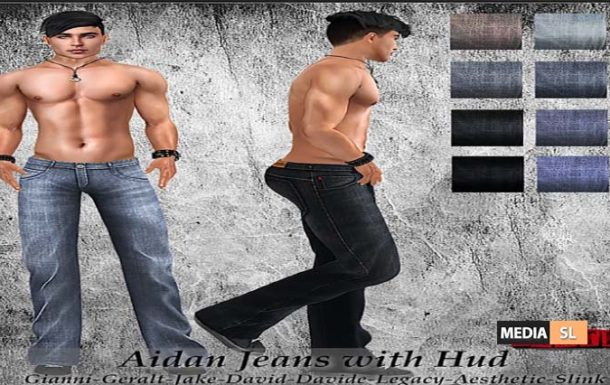 Aidan Jeans with Hud! – NEW MEN
