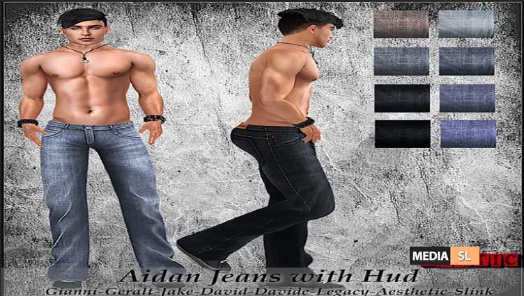 Aidan Jeans with Hud! – NEW MEN