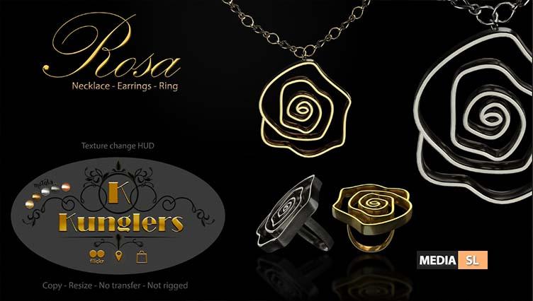 Rosa set vendor – NEW