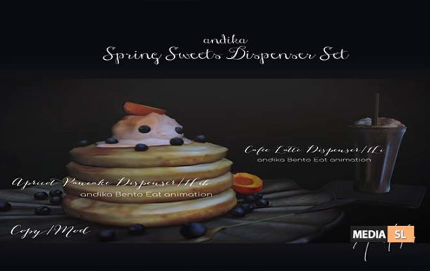andika Spring Sweets Dispenser Set – NEW