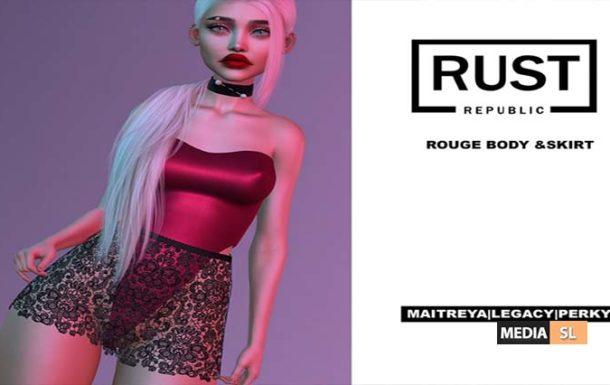rouge body & skirt – NEW