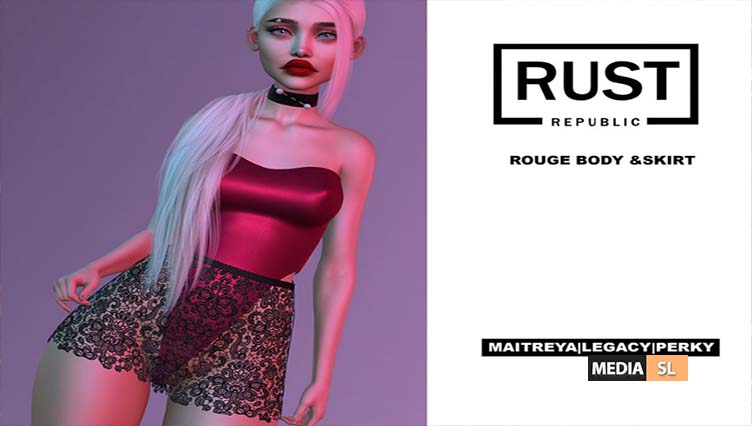 rouge body & skirt – NEW
