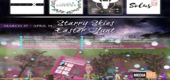 Starry Skies Sim Wide Easter Hunt – March 2020
