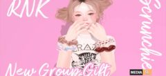 [RNK] Scrunchie (4color) – Gift