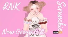 [RNK] Scrunchie (4color) – Gift