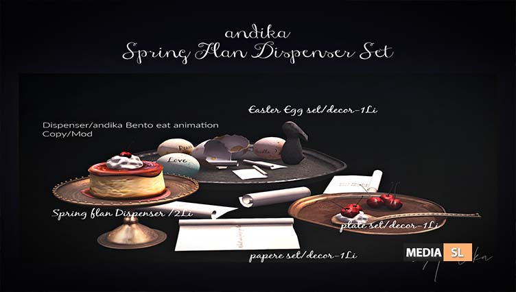 andika [Spring flan Dispenser set] – NEW DECOR